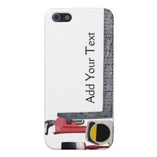 Herramientas de la manitas iPhone 5 carcasas