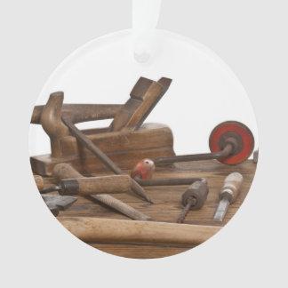 Herramientas de madera del carpintero