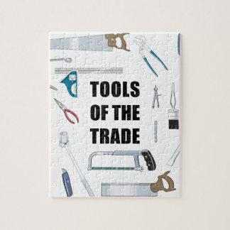 Herramientas del comercio: Hardware usado por la Puzzle