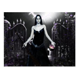 Herramientas góticas de los chicas del comercio postal