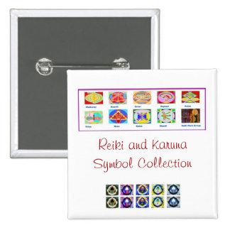 Herramientas principales de Reiki - sorteos de los Pins