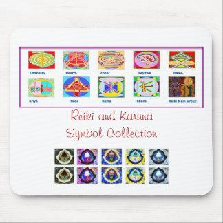 Herramientas principales de Reiki - sorteos de los Tapetes De Ratón