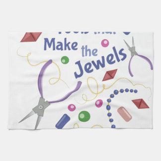 Herramientas que hacen las joyas toallas de cocina
