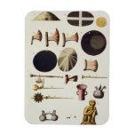Herramientas y artefactos, Perú del inca, de 'Le C Imanes Rectangulares