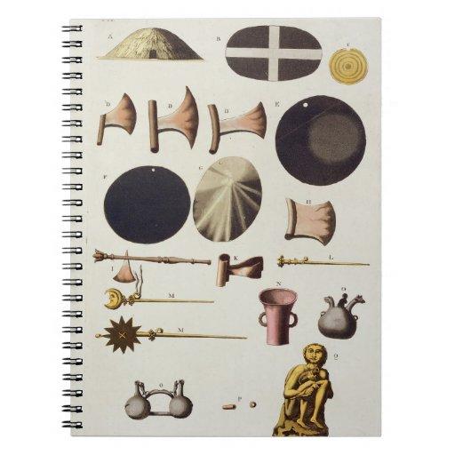 Herramientas y artefactos, Perú del inca, de 'Le C Libro De Apuntes