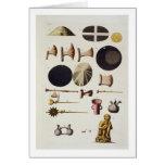 Herramientas y artefactos, Perú del inca, de 'Le C Tarjeta De Felicitación
