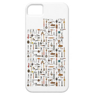 Herramientas y utensilios. Buenos viejos días iPhone 5 Carcasas