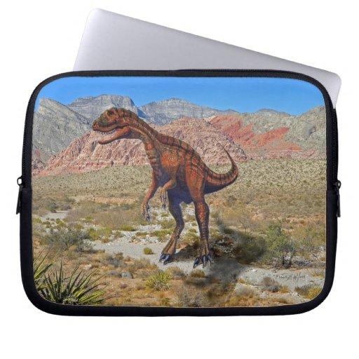Herrarsaurus In Desert Laptop Sleeve