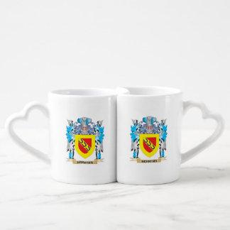 Herrera Coat of Arms - Family Crest Couple Mugs