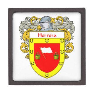Herrera Coat of Arms/Family Crest Jewelry Box