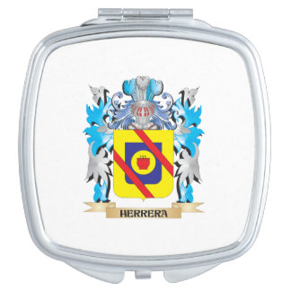 Herrera Coat of Arms - Family Crest Mirror For Makeup