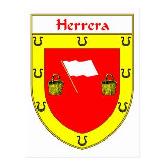Herrera Coat of Arms/Family Crest Postcard