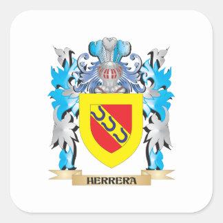 Herrera Coat of Arms - Family Crest Stickers