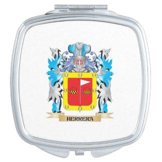 Herrera Coat of Arms - Family Crest Travel Mirror