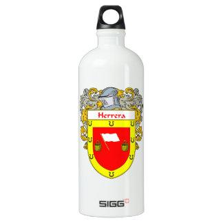 Herrera Coat of Arms/Family Crest Water Bottle