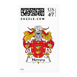 Herrera Family Crest Postage