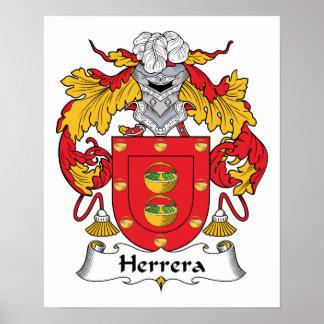 Herrera Family Crest Posters