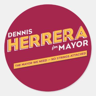 Herrera for Mayor Sticker