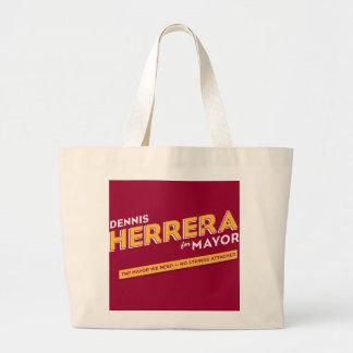 Herrera for Mayor Tote Bag