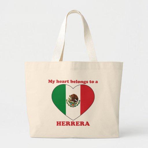 Herrera Jumbo Tote Bag