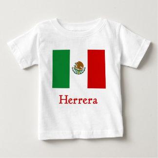 Herrera Mexican Flag Baby T-Shirt