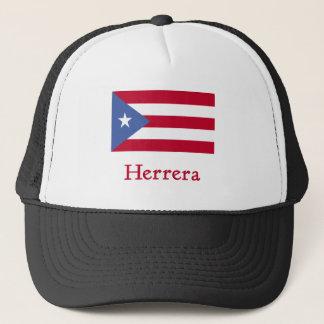 Herrera Puerto Rican Flag Trucker Hat