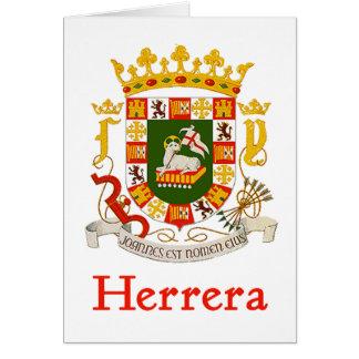 Herrera Shield of Puerto Rico Card
