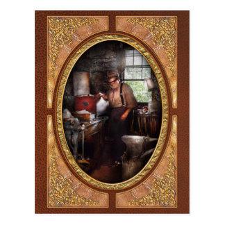 Herrero - la herrería tarjeta postal