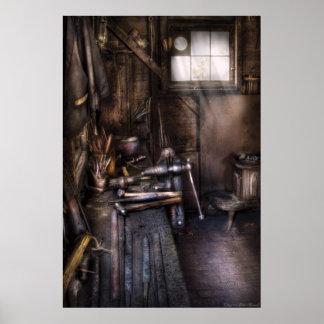 Herrero - la tienda del herrero poster