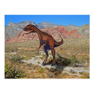 Herrersarus Dinosaur Postcard