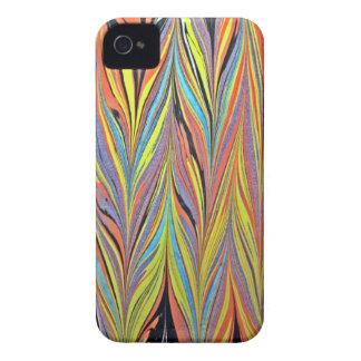 Herring Bone Water Marbling Case-Mate iPhone 4 Cases