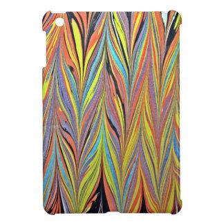 Herring Bone Water Marbling iPad Mini Covers