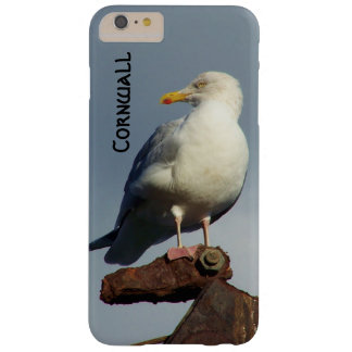 Herring Gull Charlestown Harbour Cornwall England Barely There iPhone 6 Plus Case
