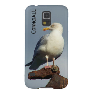 Herring Gull Charlestown Harbour Cornwall England Case For Galaxy S5