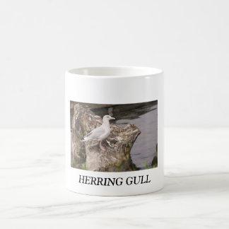 HERRING GULL CLASSIC WHITE COFFEE MUG