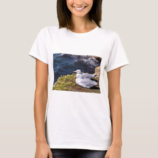 Herring gulls lying on grass T-Shirt