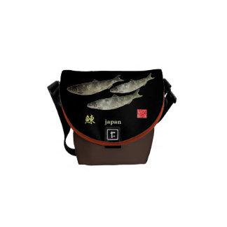 Herring! Herring GYOTAKU JAPAN < God dignity tower Courier Bag