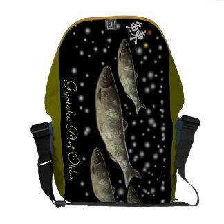 Herring! Herring. Yutaka 穣 prosperous herring Messenger Bag