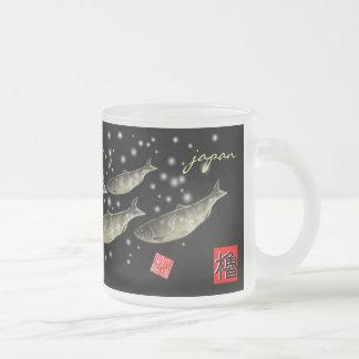 Herring! < Peony snow; Snow herring > GYOTAKU JAPA Mug