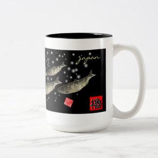 Herring! < Peony snow; Snow herring > GYOTAKU JAPA Coffee Mug