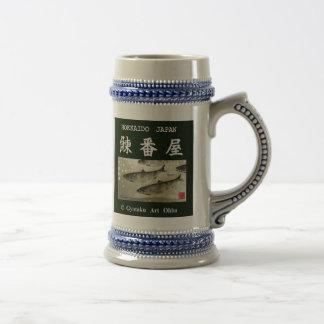 Herring turn house! Both sides type HOKKAIDO JAPAN Beer Stein