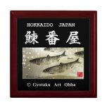 Herring turn house! Herring GYOTAKU JAPAN Jewelry Box