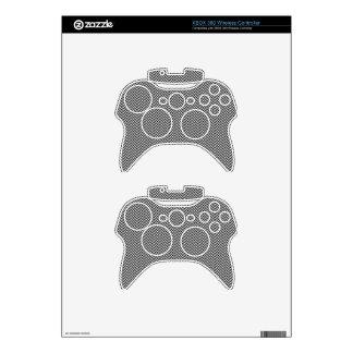 HERRINGBONE (a black & white design) ~ Xbox 360 Controller Decal