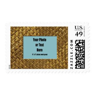 Herringbone Basket Weave Postage