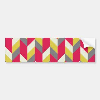 Herringbone Bumper Sticker