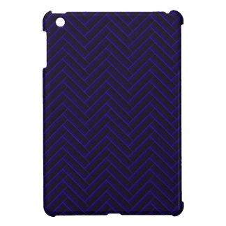 herringbone dark blue iPad mini cases