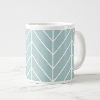 Herringbone Jumbo Mug