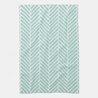 Herringbone Kitchen Towel | {Mint}