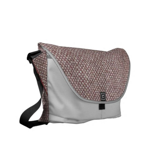 Herringbone Messenger Bag