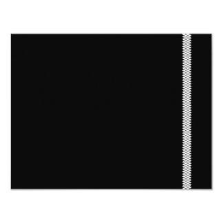 Herringbone Star Bar Mitzvah RSVP Card